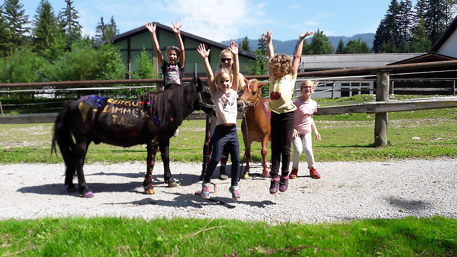 Spiel & Spaß mit unseren Ponys