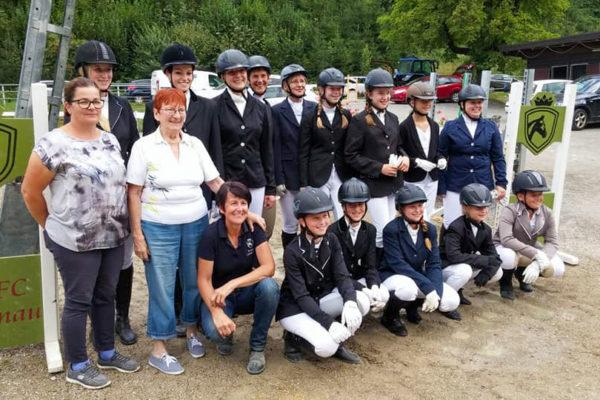 Prüflinge der Reiterpass- & Reiternadel-Prüfungen